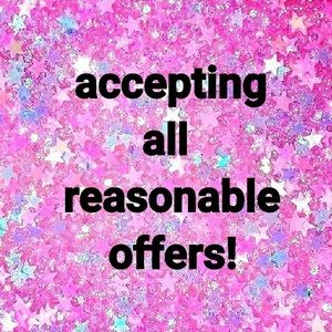 I love offers!! 💖